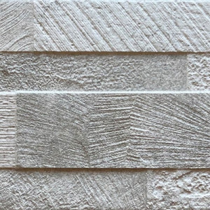 Revestimiento VOLCANO 3D WHITE 15x61 porcelanico destonificado RONDINE