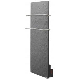 Radiador eléctrico toallero Avant Touch vertical 1300w Pizarra Azabache
