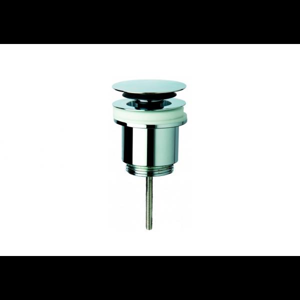 Válvula de desagüe clicker cromado