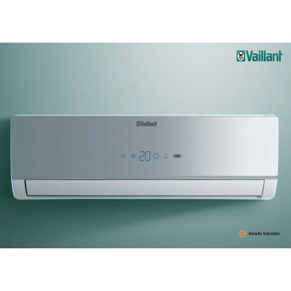 Aire acondicionado VAILLANT monosplit superior VAI 3-025 WN (2.600 w | 2.236 Frig./h en frío y 2.800 w | 2.365 Kcal./h en calor)
