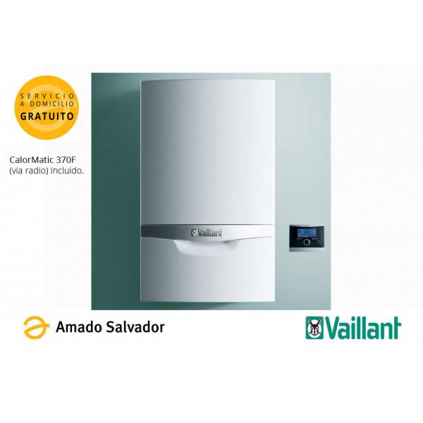 Set Caldera de Condensación ecoTEC PLUS VMW  306/5-5 VAILLANT + CALORMATIC 370F (via radio)