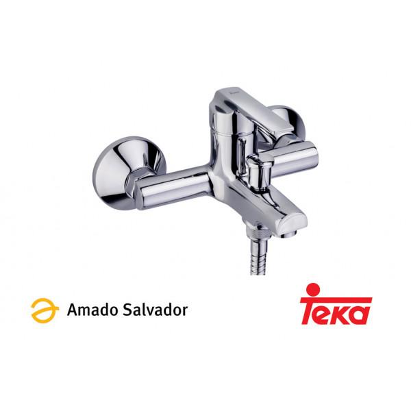 INCA mezclador monomando baño ducha con equipo de ducha cromo Teka