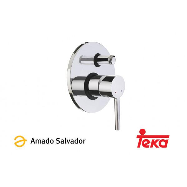 ALAIOR mezclador monomanto empotrado baño/ducha cromo Teka
