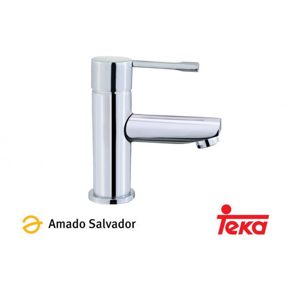 ALAIOR mezclador monomando lavabo cromo Teka