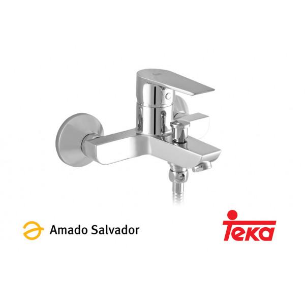 CALVIA mezclador monomando baño-ducha con equipo de ducha cromo Teka