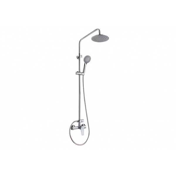 Manacor sistema de ducha monomando cromo Teka