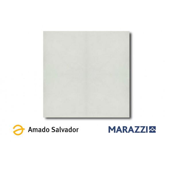 Pavimento BLOCK white 75x75cm porcelánico Marazzi
