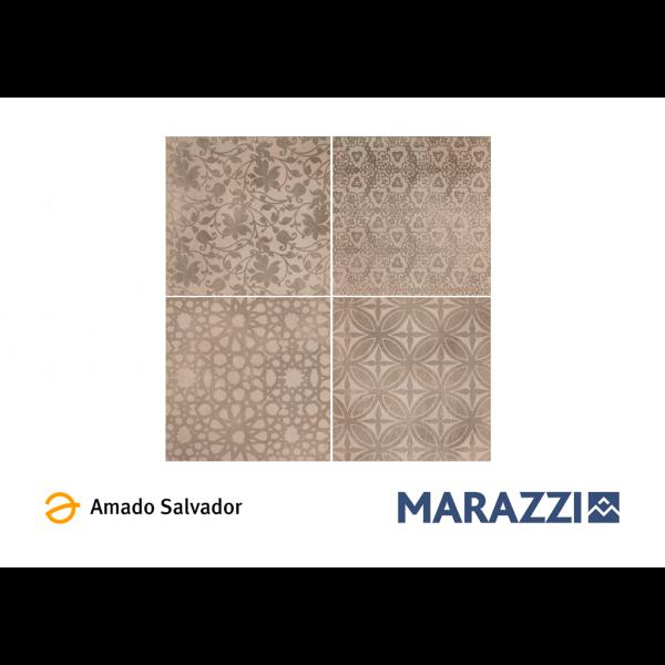 Pavimento POWDER decoro Liberty 75x75cm porcelánico Marazzi