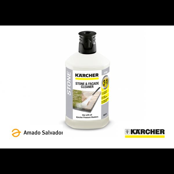 Detergente Hidrolimpiadora Karcher para piedra, fachada y piscinas 1L