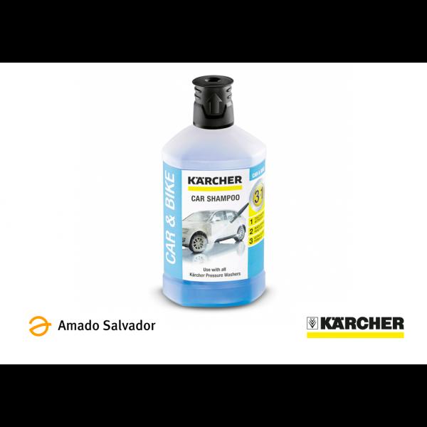 Detergente Hidrolimpiadora Karcher para limpieza de vehículos 1L