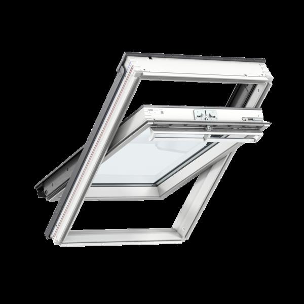 Ventana giratoria manual acabado blanco 78x98cm Velux