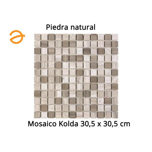 Mosaico enmallado KOLDA 30,5X30,5cm Piedra natural