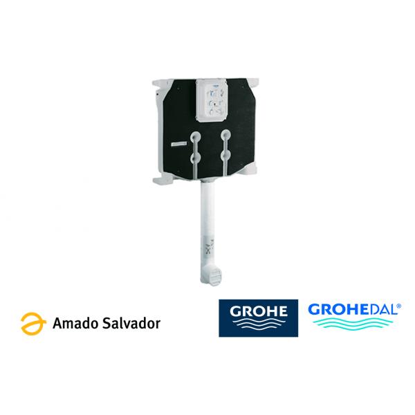 Cisterna empotrada Grohe para inodoros dual flush