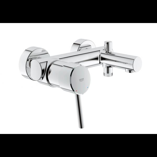 Concetto mezclador monomando baño-ducha cromo Grohe