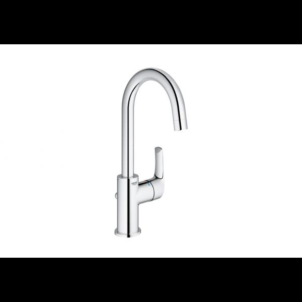 Eurosmart monomando fregadero / lavabo caño giratorio sobre encimera cromo Grohe