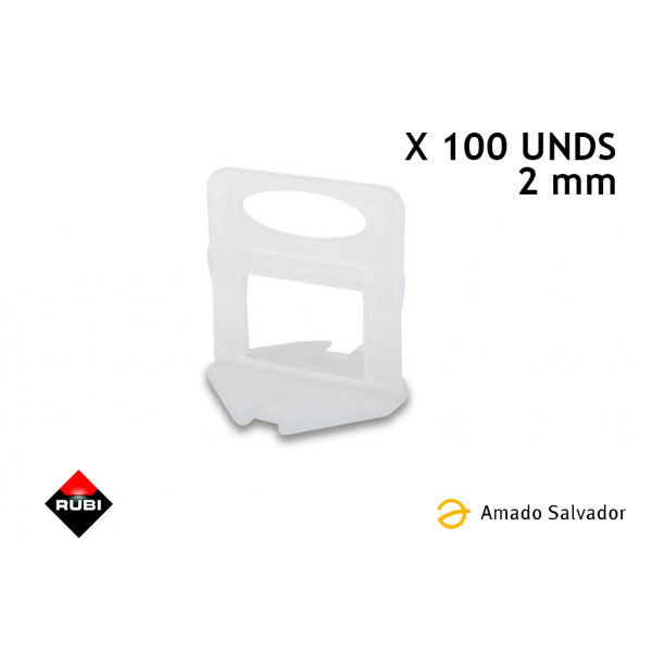 BRIDA 2 MM - 100 UDS - Delta level system