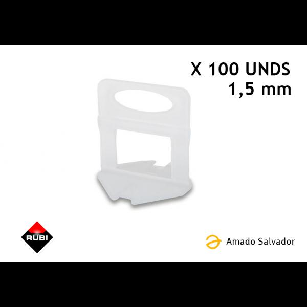BRIDA 1,5 MM - 100 UDS - Delta level system