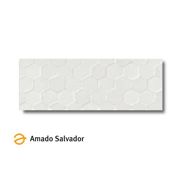 Revestimiento MAZE-W/R blanco mate 32x90cm pasta blanca Peronda