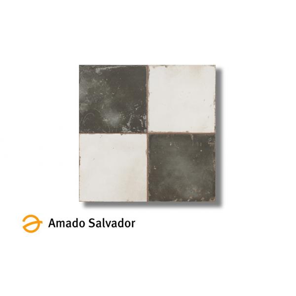 Pavimento FS Damero 45x45 cm Gres Design by Francisco Segarra tipo ajedrez