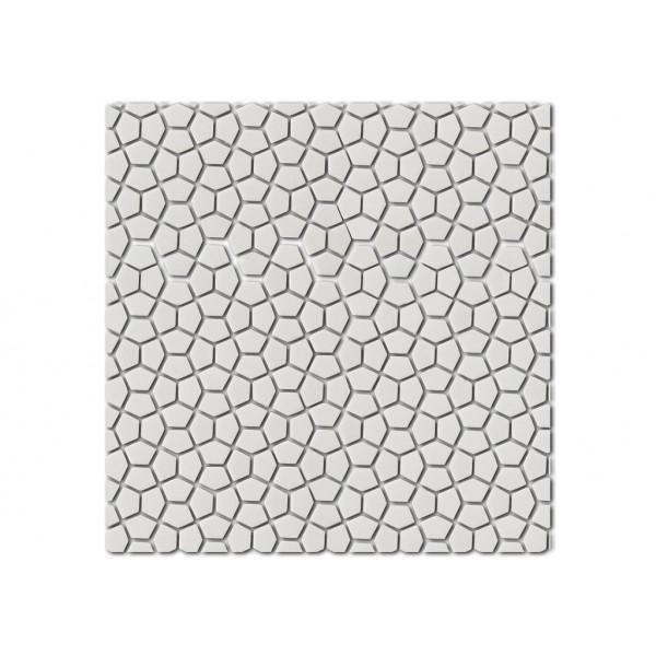 Mosaico enmallado MOSAIC KIN Ice 30,5x30,5cm Harmony design by Designio