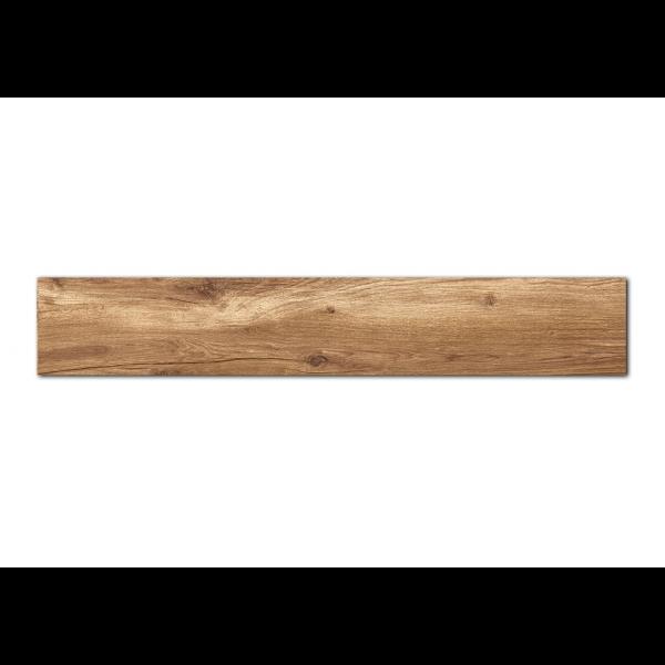 Pavimento  MUMBLE-C caramelo 23x180cm madera porcelánica Peronda