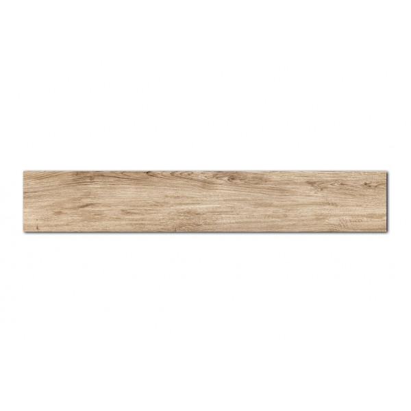 Pavimento  MUMBLE-H hueso 23x180cm madera porcelánica Peronda