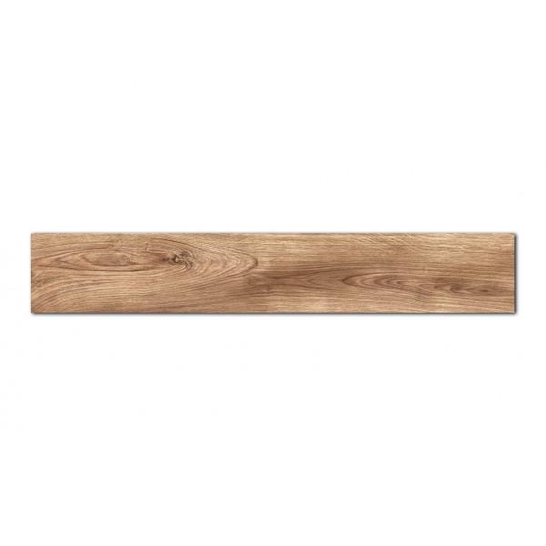Pavimento  MUMBLE-C caramelo 19,5x121,5cm madera porcelánica rectificado Peronda
