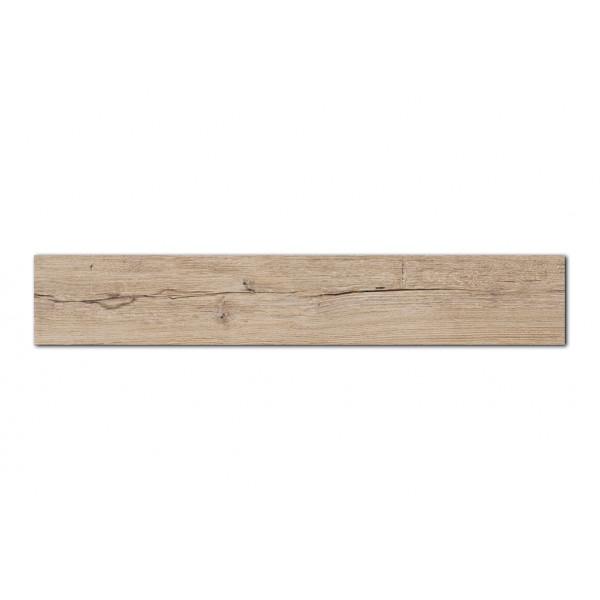Pavimento  MUMBLE-H hueso 19,5x121,5cm madera porcelánica rectificado Peronda