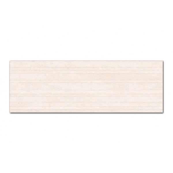 Revestimiento ERTA decor beige 33x100cm pasta blanca Peronda