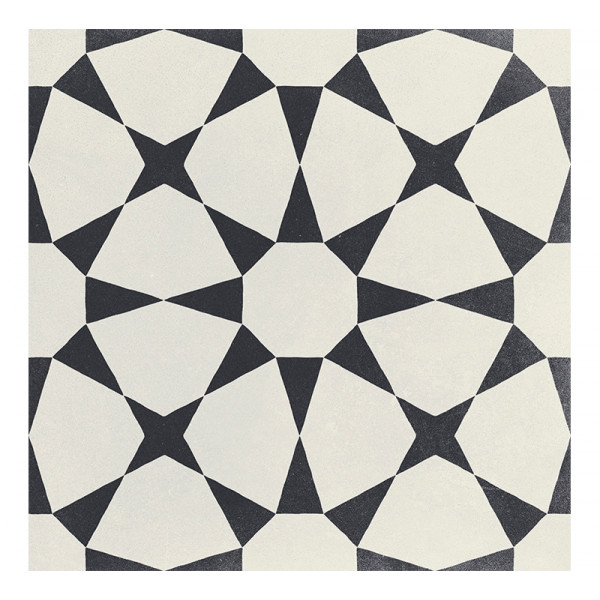 Pavimento CUBAN White Star 22,3x22,3cm porcelánico Harmony