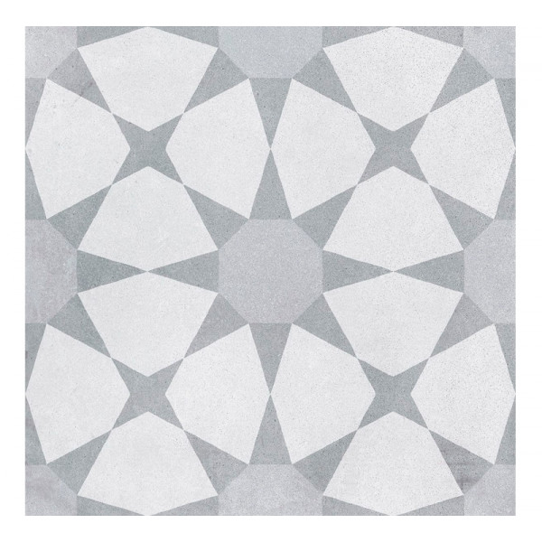 Pavimento CUBAN Silver Star 22,3x22,3cm porcelánico Harmony