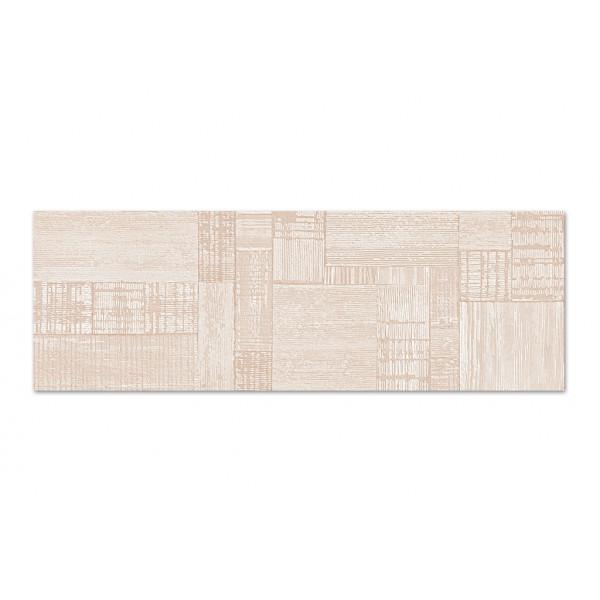 Revestimiento SALINES decor bone satinado 33,3x100cm (slim) pasta blanca Peronda