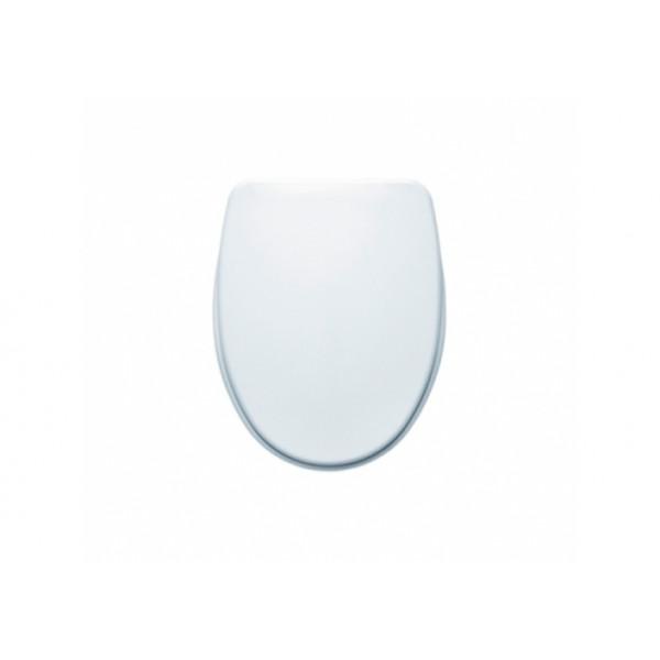 Asiento de inodoro fijo blanco NILA Gala