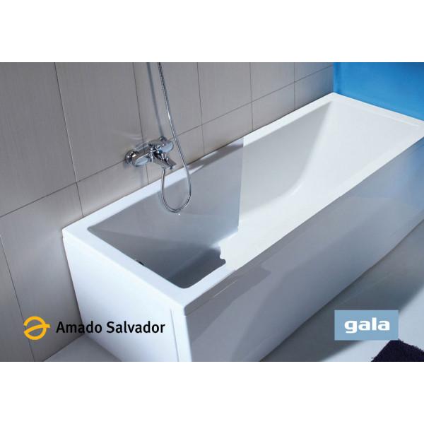 Bañera acrílica MITTA color blanco de Gala 140X70cm