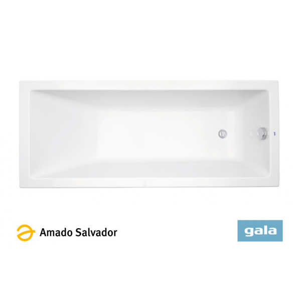 Bañera acrílica MITTA color blanco de Gala 160X75cm