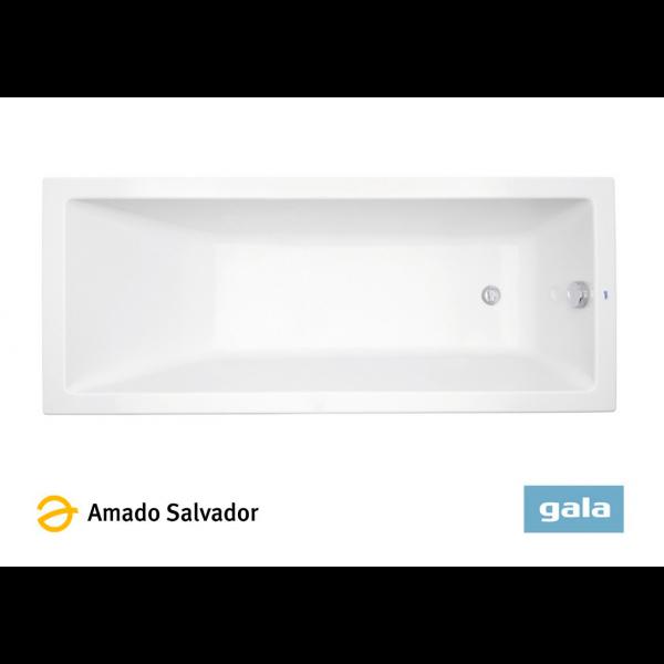 Bañera acrílica MITTA color blanco de Gala 160X80cm