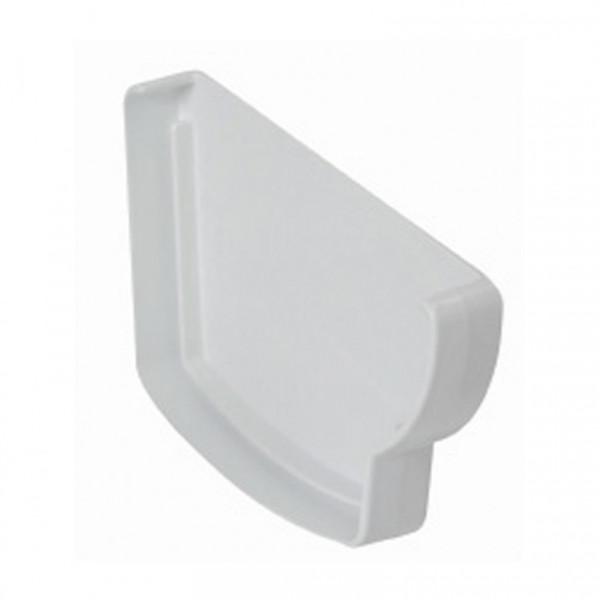 Tapa canalon accesorio derecho Blanco