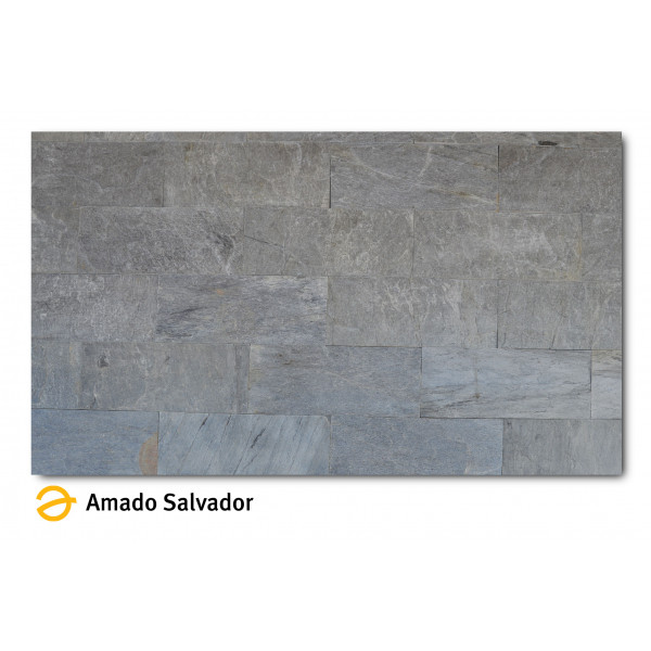 Pizarra natural Silver Shine  30x60cm Calibrada