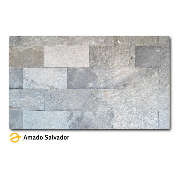 Piedra Natural Pizarra India calibrada 30x60cm Crystal Shine