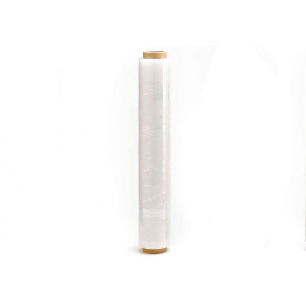 Rollo film extensible manual transparente 2,10kgs  (23 micras)