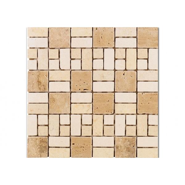 Mosaico enmallado MARMOL CATI 30X30cm