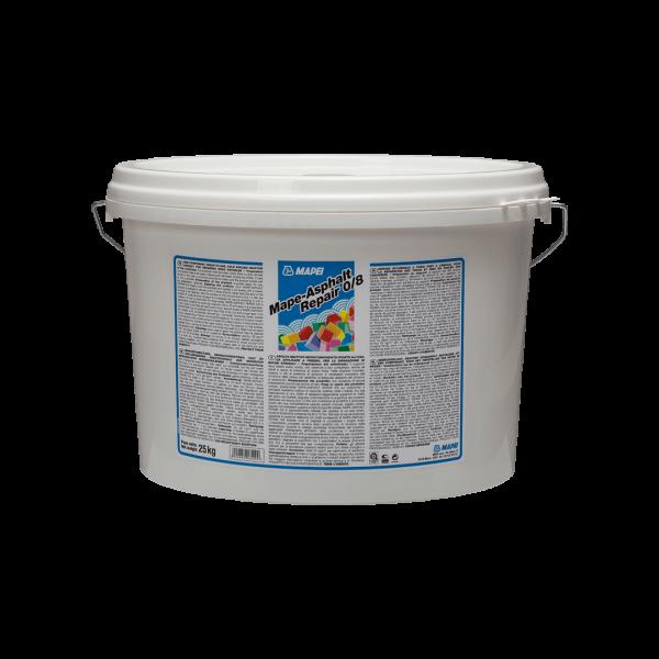 MAPE-ASPHALT REPAIR 0/8 mortero asfáltico reactivo listo para uso en frío 25kg