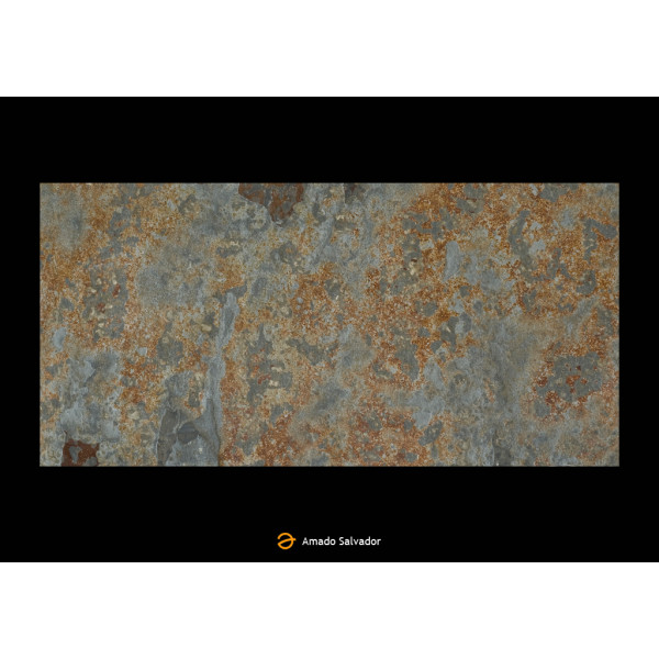 Pizarra natural Multicolor 30x60x1 Calibrada RustySlate