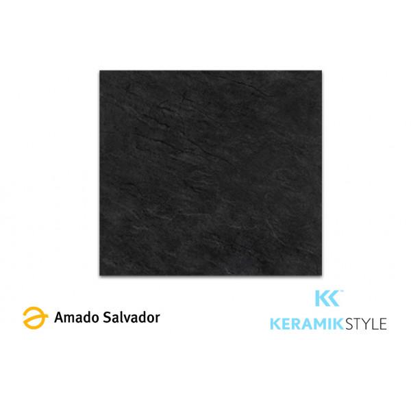Piedra Natural Pizarra Brasileña calibrada 60x60cm Negra grafito