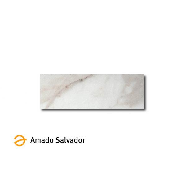 Pavimento Revestimiento Calacata 10x30cm (Porcelánico Luxe+Rectificado)
