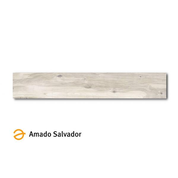 Pavimento Sherwood Cedro 19.5x120 cm Madera Porcelánica Rectificada