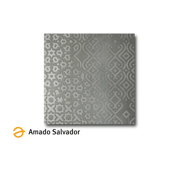 Pavimento Fragua Silver Pulido 60x60 cm Porcelánico Rectificado