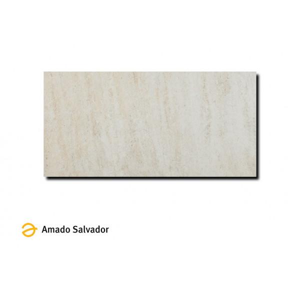 Pavimento Jaipur/India blanco 30x60 cm porcelánico efecto pizarra