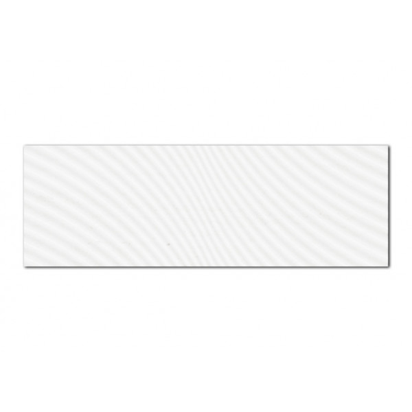 Revestimiento ARMONY Dunes Snow 30x90cm pasta blanca Keramik Style