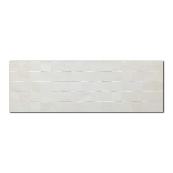 Revestimiento ARMONY Squared Bone 30x90cm pasta blanca Keramik Style